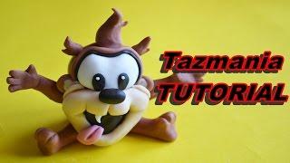 TAZMANIA BABY LOONEY TUNES CAKE TOPPER FONDANT - PASTA DI ZUCCHERO TORTA DECORATA TASMANIA