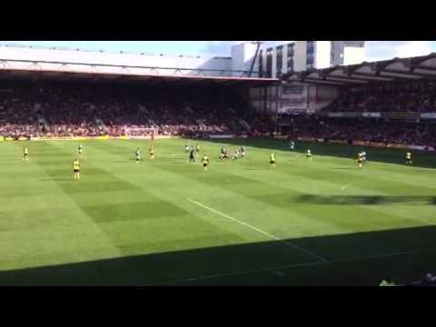 Watford vs Ipswich 19th April 2014 3-1