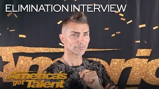 Elimination Interview: Aaron Crow Remains Speechless After AGT - America