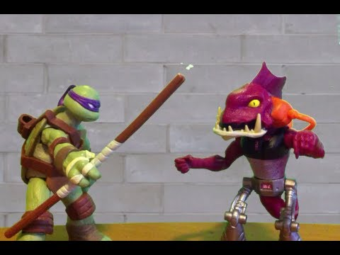 TMNT 2013 Stop Motion- Fish Face