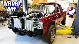 Prepping Our TT AWD S10 To Make Its First Real Track Rip! Building The Ultimate Truck Ep 20