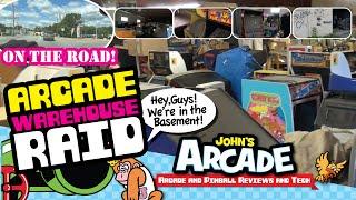John raids an arcade warehouse and grabs  a $25 Ms. Pac-Man! - classic arcade and pinball machines