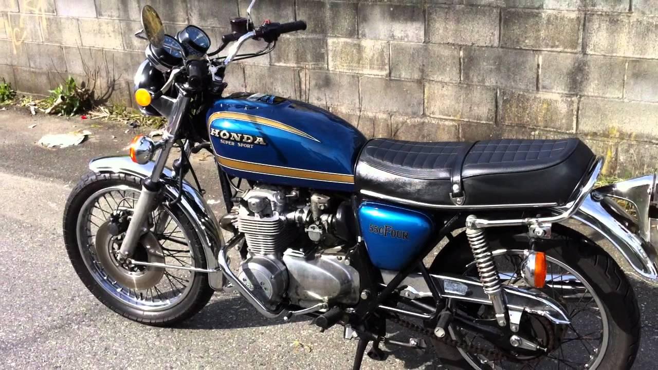 1977 Honda Cb550 Super Sport Youtube