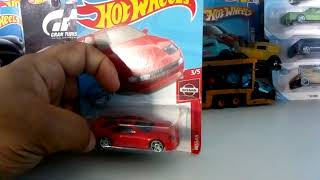 Top japonês carros Nissan 300 ZX TWIN TURBO miniatura hot Wheels