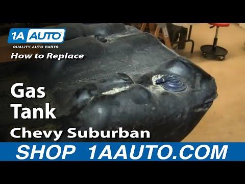 How To Install Remove Fuel Gas Tank 2000-06 Suburban Yukon XL Escalade ESV
