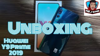 Huawei Y9 Prime 2019 Unboxing| Quick Look| Philippines
