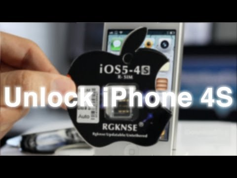 How to Unlock the iPhone 4S using R-SIM (no jailbreak required)