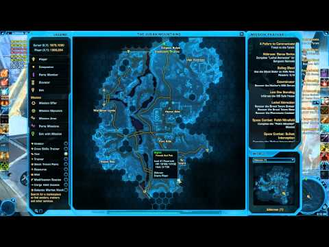SWTOR Datacrons of Alderaan Empire A Guide by Degren of Friends and Pals