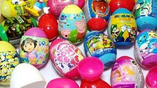 Bé Bun Bóc Trứng Nhiều Màu Và Học Tiếng Anh Màu Sắc - Surprise Egg Opening With BUN