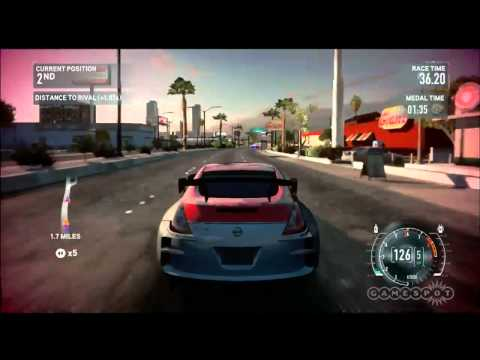Police Chase  - Need for Speed: The Run Gameplay Video