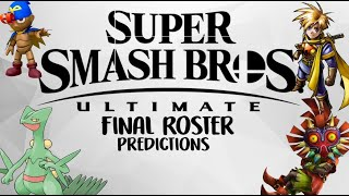 Final Super Smash Brothers Ultimate Roster Predictions