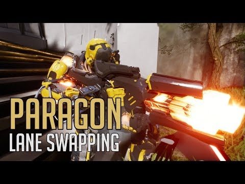 Paragon -  Knowing When to Lane Swap (Murdock Full Gameplay)
