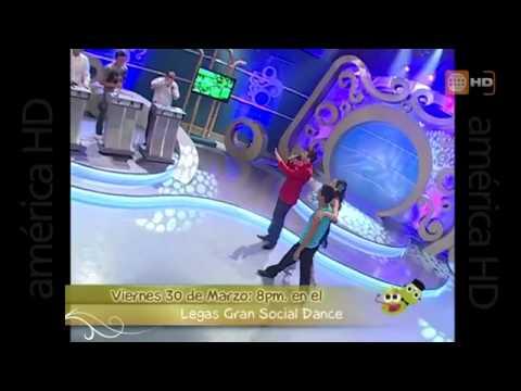 MAJU MANTILLA y CHARLES RAMIREZ SORPRENDE CON GRAN BAILE