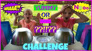 YUMMY OR GROSS FOOD CHALLENGE - Magic Box Toys Collector