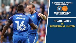 HIGHLIGHTS | The Posh vs Rotherham United