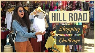HILL ROAD Bandra SHOPPING CHALLENGE Rs. 1000 | TRY ON ! Style on Budget (Mumbai) | Himani Aggarwal