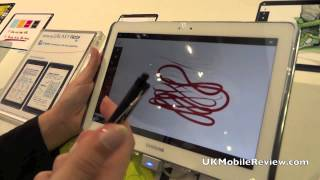 Samsung Galaxy Note 10.1 Demo