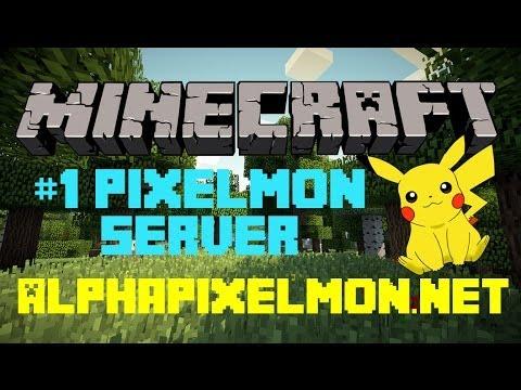 Minecraft: Server Review - PixelMon Server! - 1.6.4 [Pixelmon mod 2.5.7]