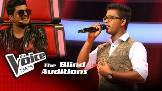 Didula Tharusara Mahamaya Blind Auditions | The Voice Teens Sri Lanka