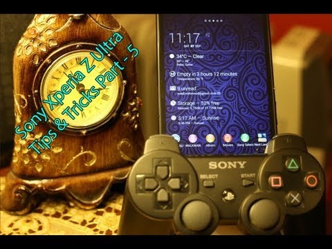 How to Use PS3 Controller with Sony Xperia Z / Z Ultra / Z1 via Bluetooth (Without Root)