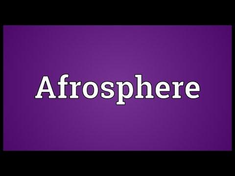 Header of Afrosphere