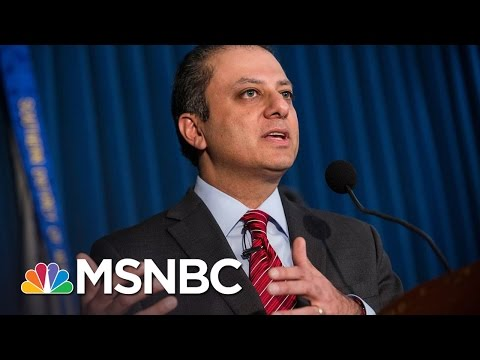 Preet Bharara, Fired AG, Had Donald Trump In Purview | Rachel Maddow | MSNBC