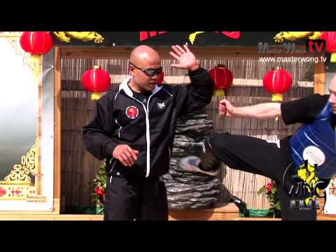 Wing Chun techniques - lesson 9 (Block round kick) Image 1