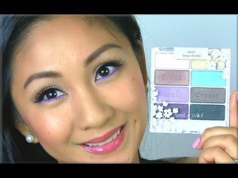Prom Makeup Tutorial, WetnWild Spring Forward Palette Tutorial! - AprilAthena7