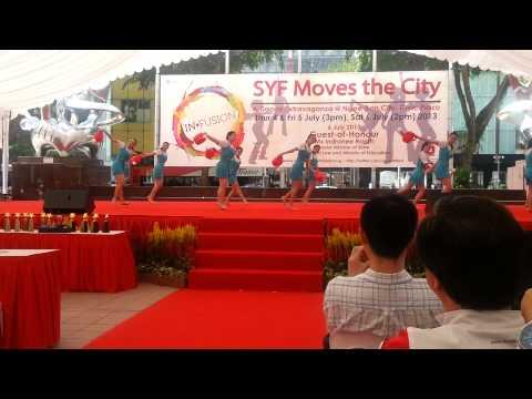 St Margaret's Modern Dance SYF City Showcase 2013