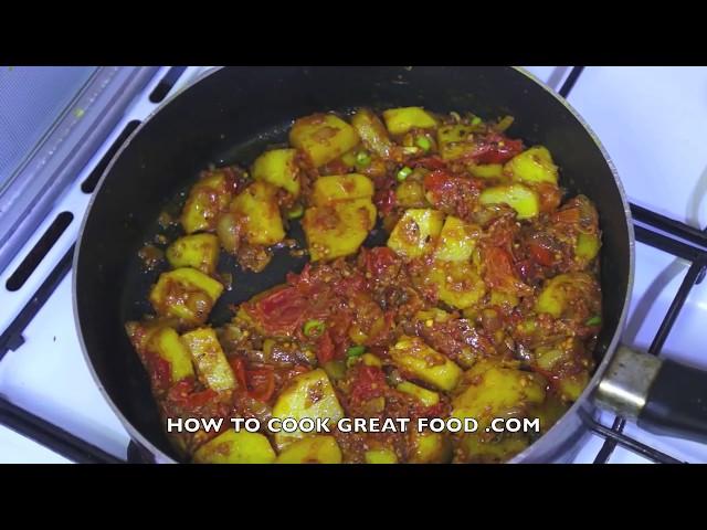 Potato Curry Recipe - Indian Bombay Aloo Masala