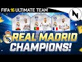 REAL MADRID CHAMPIONS LEAGUE WINNERS!! - FUT 16 Squad Builder...