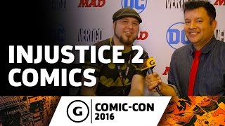 Tom Taylor Talks Upcoming Injustice 2 Comics