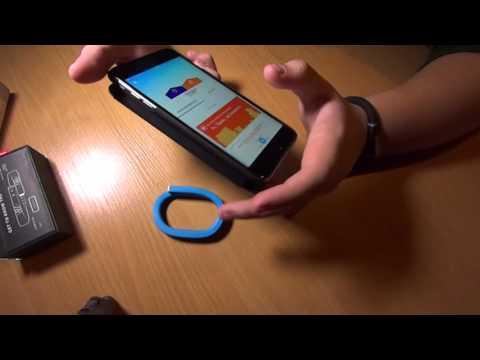 Jawbone UP X2 Распаковка и обзор спорт браслетов