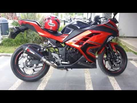 Kawasaki Ninja 250 FI 2013 Scorpion Exhaust Full System