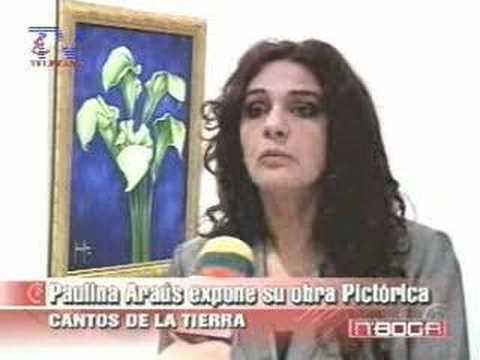 Paulina Araús expone obra pictórica