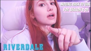 Moving Day! Riverdale Season 3 | Madelaine Petsch