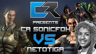 cR SonicFox Vs Netotigr (Jacqui, Full-Auto) MKX Match