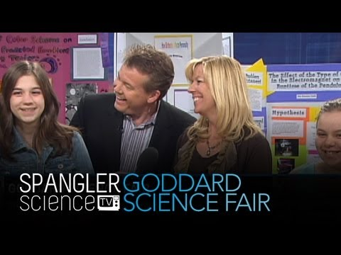 Goddard Science Fair Part 2 - Cool Science Experiment