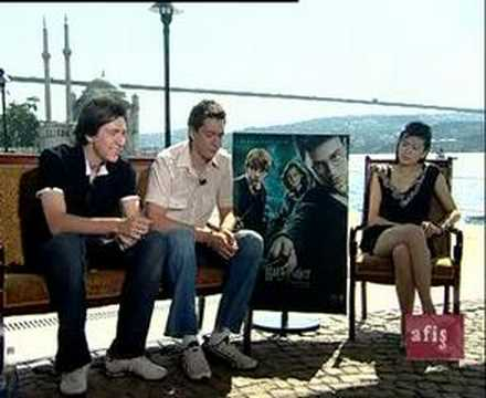 harry potter and the order of the phoenix interview-istanbul