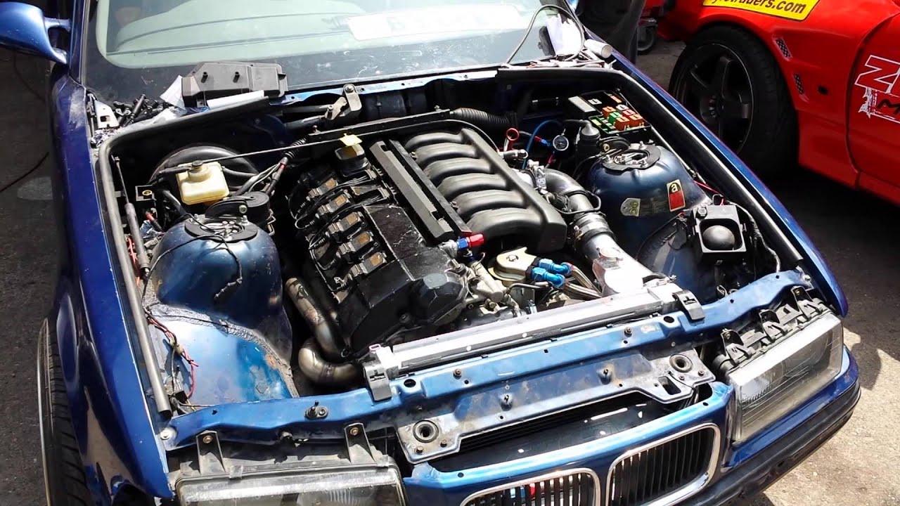Engine m52b28 cylinder head m52b28 gear box m52b28 mega squrt extra1 block m50b25 nozzles (audi c4 340tsts) turbine