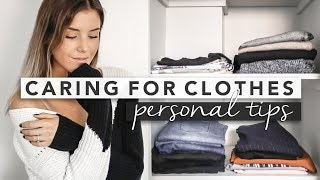 How I Care for my Clothing and Personal Tips | BASICS 101