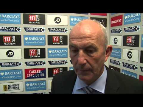 Tony Pulis evaluates West Bromwich Albion's 2-0 defeat at Crystal Palace