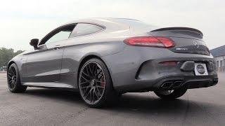 Pure Sound: 2017 Mercedes-AMG C63 S Coupe (Start Up, Revs, Acceleration & Drive Modes)