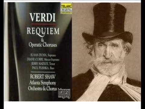 Requiem 4: Giuseppe Verdi: 'Lacrimosa