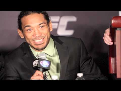 Benson Henderson at UFC on FOX 10,