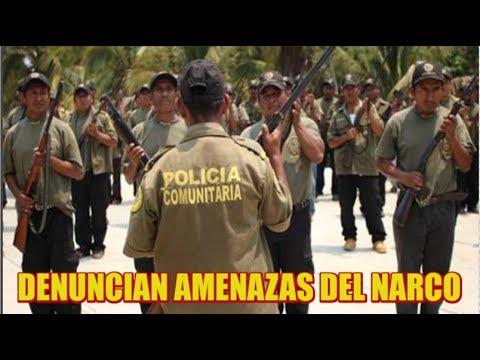 Policía Comunitaria en El Ocotito denuncia amenazas del crimen organizado