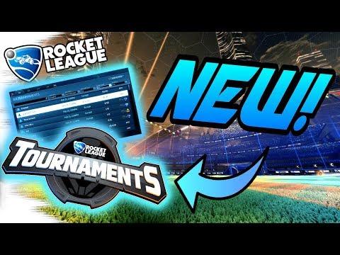 Rocket League GAMEPLAY: TOURNAMENTS UPDATE! - Walkthrough, 1v1 Goals/Dribbles, Tips (Competitive)