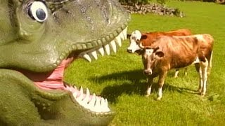 TYRANNOSAURUS REX - music video for kids. Dinosaur Songs by Daddy Donut - T-rex