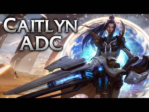 Pulsefire Caitlyn ADC - League of Legends Commentary