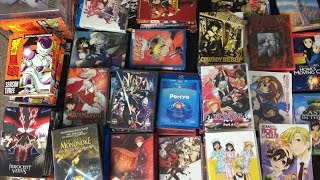 My ENTIRE Anime Blu Ray / DVD Collection
